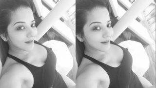 Bhojpuri Sensation And Nazar Actor Monalisa Shares Poolside Pic in Black Monokini