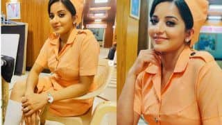 Bhojpuri Actor Monalisa Looks Hot as She Plays The Role of Nurse in Nazar