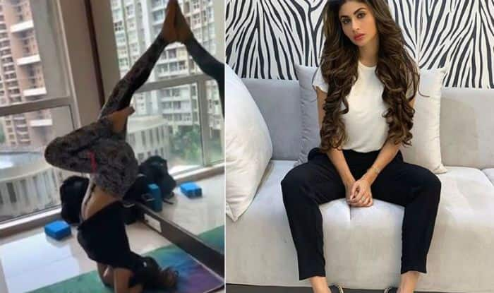 Ahead of International Yoga Day, Mouni Roy Gives Workout