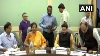 Finance Minister Nirmala Sitharaman holds Pre-Budget Consultation with Bankers