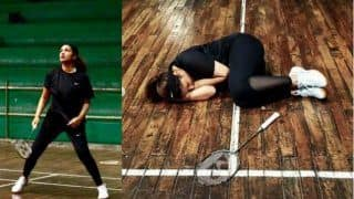 Parineeti Chopra Improves Her Badminton Skills For Saina Nehwal Biopic, Check Training Pictures