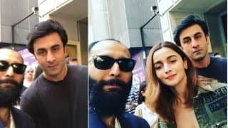 Alia Bhatt, Ranbir Kapoor Spotted by Fans Once Again as They Hit The Streets of New York