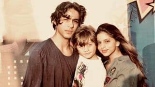 Shah Rukh Khan Shares Adorable Picture of Suhana Khan, Aryan Khan, AbRam Khan, Calls Them His 'Trio of Sugar And Spice'