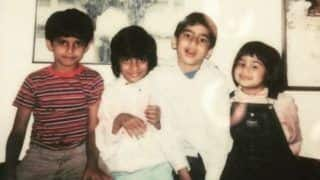 Farhan Akhtar Shares Childhood Picture With Zoya Akhtar And Cousins, Gives Interesting Caption