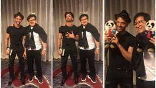 Hrithik Roshan's Hand-on-Heart Expression After His 'Incredible' Experience With Jackie Chan is Every Fan Ever!