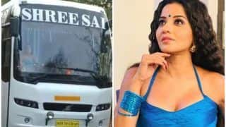 Bhojpuri And Nazar Actor Monalisa Drives a Bus For Her Role, Surprises Fans