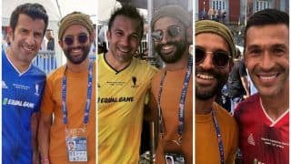 Farhan Akhtar's Pictures With Luis Figo, Alessandro Del Piero in 'Football Heaven' Madrid Sets Fans on Frenzy!