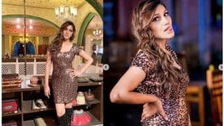 Haryanvi Bombshell Sapna Choudhary go High Glam in This Sensuous Look, Glitters Like Gold in This Blingy Dress