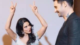 Sunny Leone's Husband Daniel Weber Cannot Get His Eyes Off His Wife as She Goofs Around