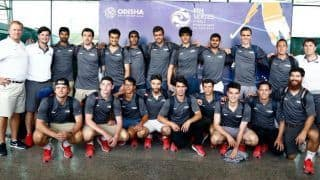 USA Hockey Team Arrives in India For FIH Series Final