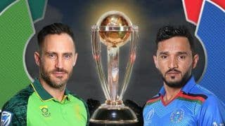 South Africa, Afghanistan Look to Post Maiden Win in Cricket World Cup 2019
