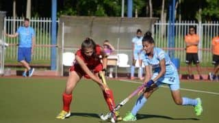 Indian Jr Women's Hockey Team Draws With Belarus Seniors 1-1