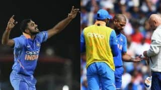 ICC Cricket World Cup 2019: Pakistan Put India in to Bat, Vijay Shankar Replaces Shikhar Dhawan