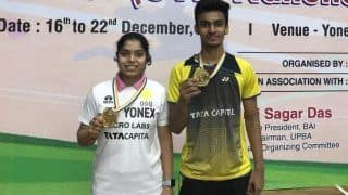 Aakarshi Kashyap, Kiran George Win Singles Title at The All India Senior Ranking Tournament