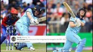 ICC Cricket World Cup 2019: Eoin Morgan Smashes 17 Sixes, Breaks ODI Record During England vs Afghanistan Match