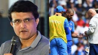 ICC Cricket World Cup 2019: India Have Looked Best, Shikhar Dhawan Rule Out no Surprise: Sourav Ganguly