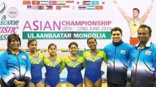 8 Member Team to Represent India in Asian Artistic Gymnastics
