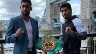 Neeraj Goyat Ruled Out of Amir Khan Showdown After Accident