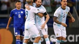 Copa America: Argentina Draws With Paraguay 1-1, Ends Quarter-Finals Hope