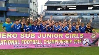 Jharkhand Wins Sub-Junior Girls National Football Championship Final