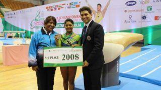 Pranati Nayak Wins Bronze at Asian Artistic Gymnastic Championship