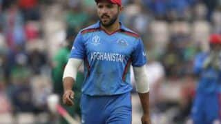 ICC Cricket World Cup 2019: Gulbadin Naib Feels Poor Fielding Took Match Away From Them Against Bangladesh