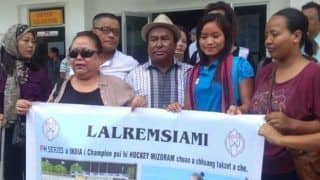 Lalremsiami Arrives in Her Village After Winning FIH Women's Series Finals