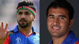 ICC Cricket World Cup 2019: Afghanistan Brings Sayed Ahmad Shirzad to Replace Aftab Alam