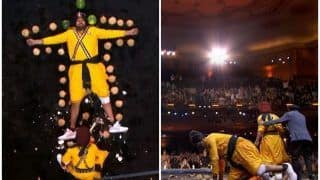 Tallest Punjab Policeman in The World And His Group Leave American Audiences Spellbound With Their Act