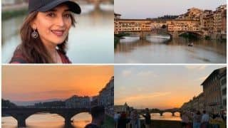 Madhuri Dixit's Breathtaking Florence Sunset Pictures Are Not For The Weakhearted Working This Weekend!