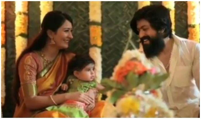 Yash-Radhika Pandit Finally Reveal The Name of Their Baby Daughter