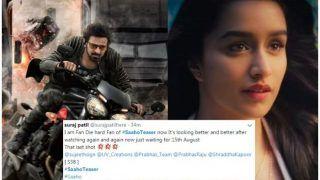 Saaho Teaser Twitter Reactions: Netizens Applaud Prabhas-Shraddha Kapoor's Energy in The Film