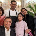 Rishi Kapoor's Daughter And Granddaughter Visit Him And Neetu Kapoor in New York