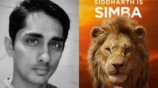 Siddharth on The Lion King: I Had Unforgettable Experience Speaking And Singing in Tamil as Simba