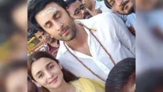 Ranbir Kapoor, Alia Bhatt Seek Blessings at Kashi Vishwanath Ahead of Brahmastra Release