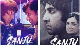 Vicky Kaushal-Dia Mirza Celebrate One Year of Rajkumar Hirani Directorial Sanju