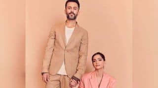 Sonam Kapoor-Anand Ahuja Make Heads Turn as They Ace Pantsuit Look in Latest Instagram Post