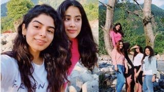 Janhvi Kapoor Chills With Sister Khushi Kapoor And Friends in Uttarakhand