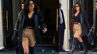 Priyanka Chopra Trolled For Wearing Khaki Shorts, Netizens Call Her 'RSS Brand Ambassador'