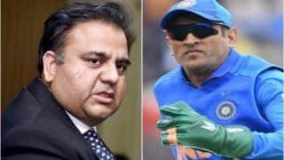ICC Cricket World Cup 2019: Pakistan Minister Fawad Hussain Chaudhry Takes Jibe at MS Dhoni, Says Former India Skipper in England to Play Cricket Not Mahabharata