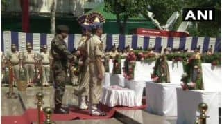 Jammu & Kashmir: CRPF Pays Tribute to 5 Jawans Martyred in Anantnag Terror Attack
