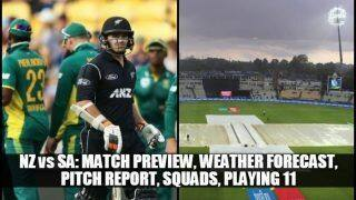 ICC World Cup 2019 New Zealand vs South Africa: Match Preview, Weather Forecast, Pitch Report, Squads, Playing 11