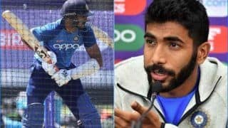 ICC World Cup 2019: Vijay Shankar Is Fine Now, Assures Jasprit Bumrah