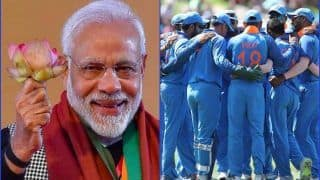 ICC Cricket World Cup 2019: PM Narendra Modi Wishes Men In Blue For CWC19 On Twitter | SEE POST