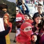 Sara Ali Khan, Kartik Aaryan Once Again Spotted With Faces Covered on The Streets of Shimla