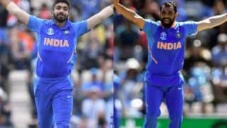 Jasprit Bumrah Interviews Mohammad Shami After India's Victory Against Afghanistan In ICC World Cup 2019