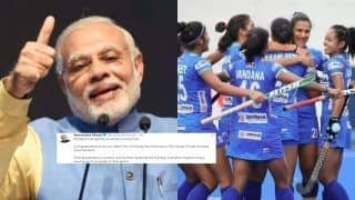 PM Modi Congratulates Indian Women Hockey Team On Winning FIH Series Finals | SEE POST