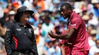 ICC Cricket World Cup 2019: Carlos Brathwaite Fined For Breaching ICC Code of Conduct Against India