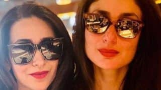 Kareena Kapoor Khan, Karisma Kapoor Look Chic as They Twin in Black Outfits
