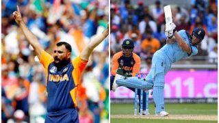 ICC World Cup 2019: इंग्लैंड ने भारत को दिया 338 रन का लक्ष्य, शमी ने झटके 5 विकेट